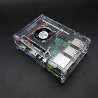 Transparent Clear Case Enclosure Boxes for Raspberry Pi 2 Model/ B+/3 Kits Tools