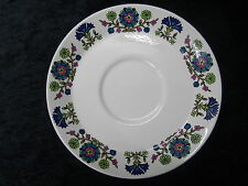 C1960/70's Midwinter China Saucer with Country Garden Pattern.