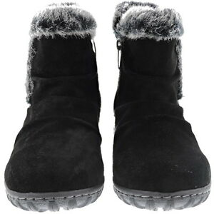Khombu-Ladies-Winter-Boots-All-Weather-Lisa-Style-Black-Brown-Pick-Size-USED
