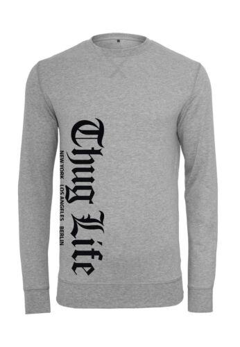 Thug Life Old English Crewneck TL010 grey