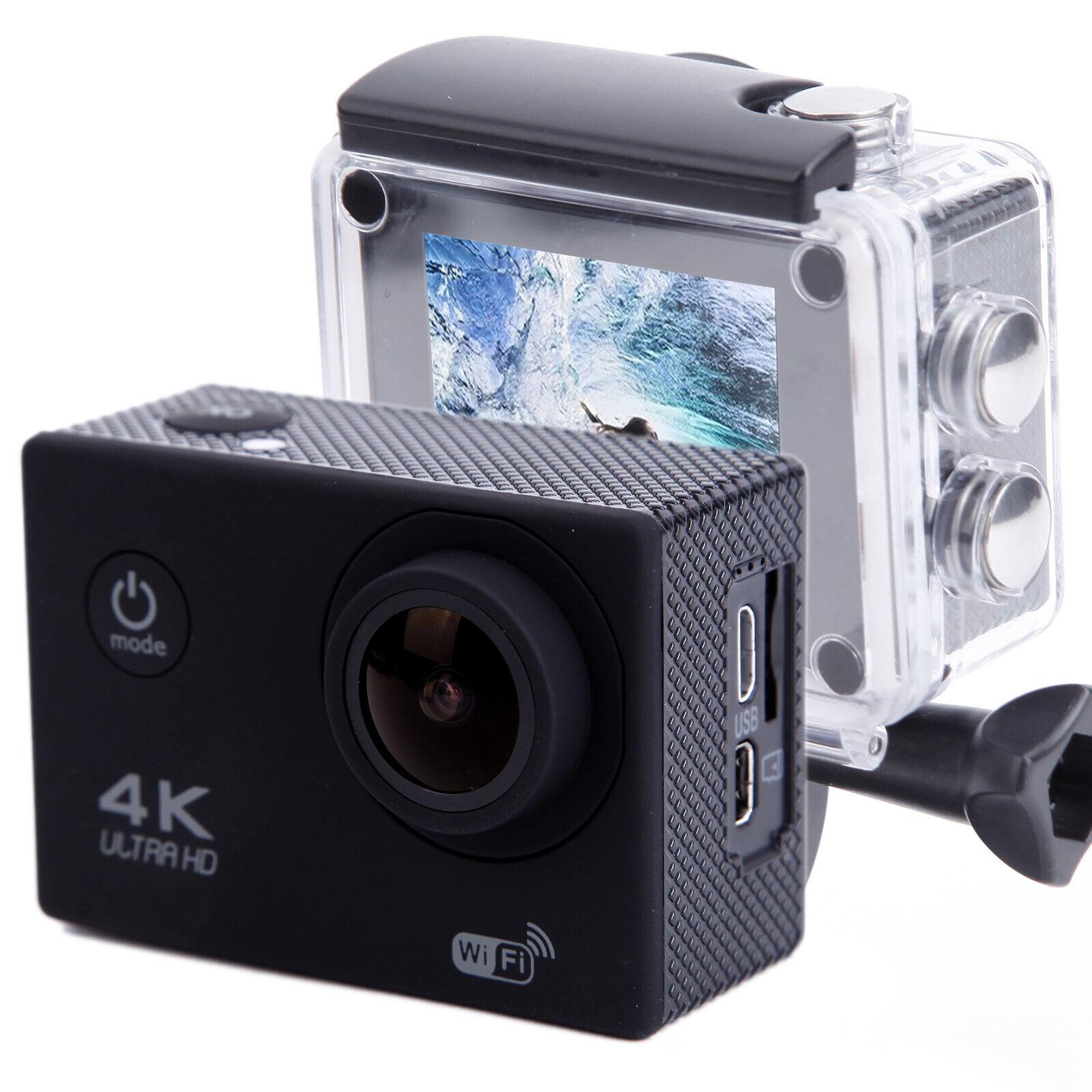 4K 16MP Waterproof HD 1080p Action Sport Cam Camera Video Helmet Cam Bike DVR Featured