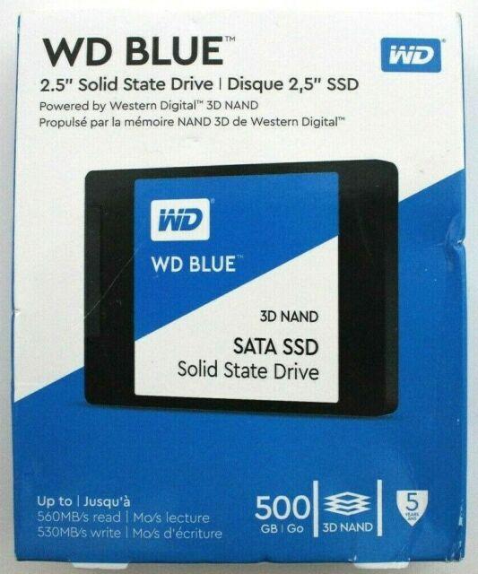 WD - Blue 500GB Internal SATA Solid State Drive - Brand New