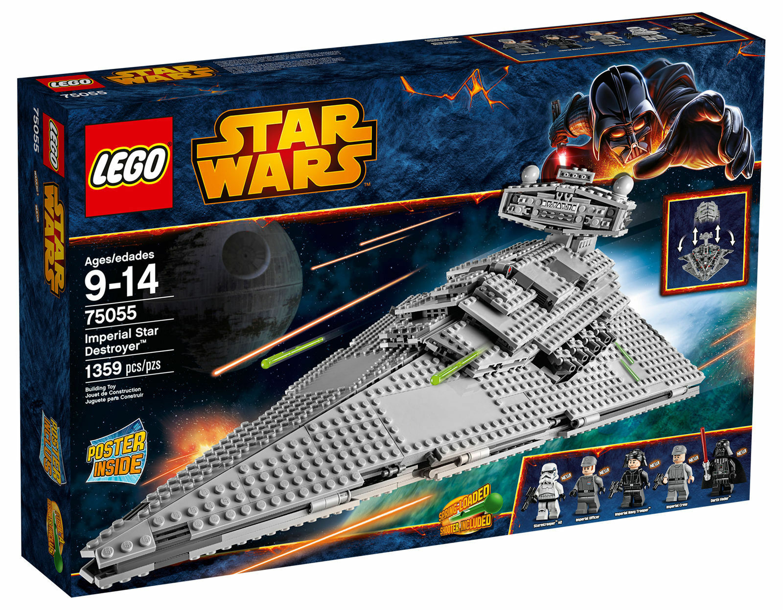 LEGO Star Wars 2014 Imperial Star Destroyer 75055 - NEW Sealed unopened