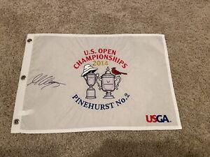 Martin-Kaymer-Signed-Auto-Autograph-2014-US-Open-Championships-Flag-Pinehurst