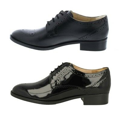 Ladies NETLEY ROSE Brogue Detail Lace Up Shoes By Clarks £58.99
