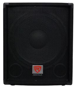 Rockville-SBG1154-15-034-800-Watt-Passive-4-Ohm-Pro-DJ-Subwoofer-MDF-Pole-Mount
