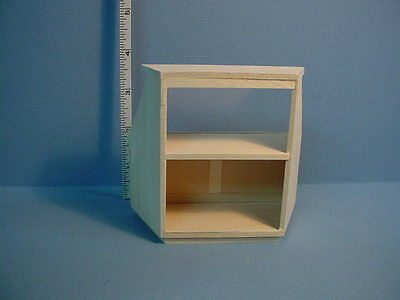 Dollhouse Miniature Candy Counter Angle Sides #5200 Unpainted M & M Spec. 1/12th
