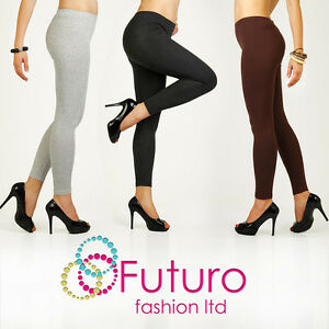 Winter-Leggings-Warm-Thick-Heavy-Full-Length-Cotton-All-Sizes-8-22-P28