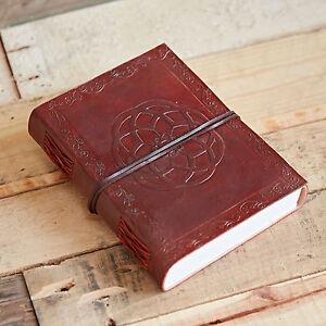 Le commerce équitable fait main Indra Celtique noeud cuir journal notebook diary-afficher le titre d`origine aQjTZon4-07191309-184199743