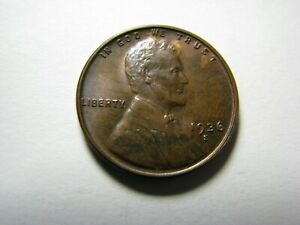 1936-S Lincoln Wheat Cent <> About Uncirculated
