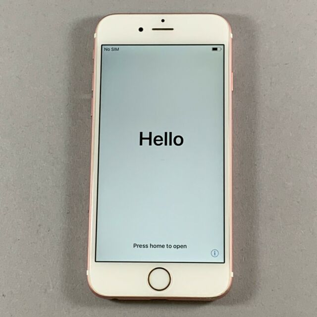 Apple Iphone 6s 16gb Rose Gold At T A1633 Cdma Gsm For Sale Online Ebay