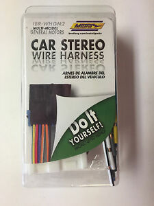 s l300 metra car stereo wiring harness for multi model gm vehicles ibr metra car stereo wiring harness at eliteediting.co