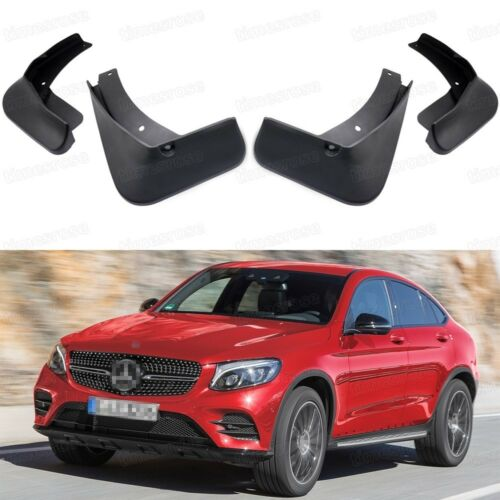 Car Mud Flaps Splash Guard Fender Mudguard for Mercedes-Benz GLC Coupe AMG Line