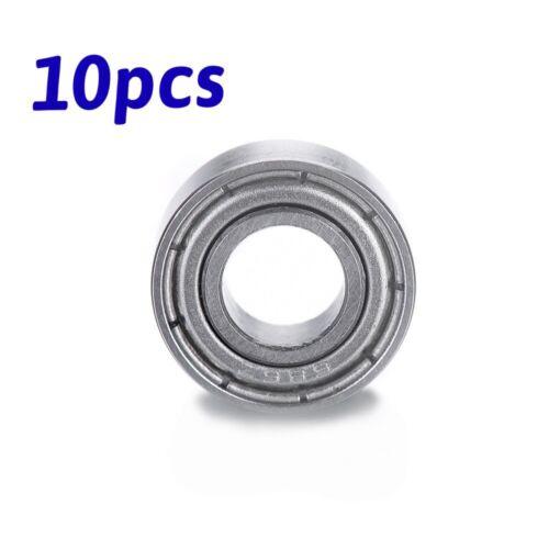 10pcs 6x13x5mm Mini Shielded Deep Groove Miniature Ball Bearings