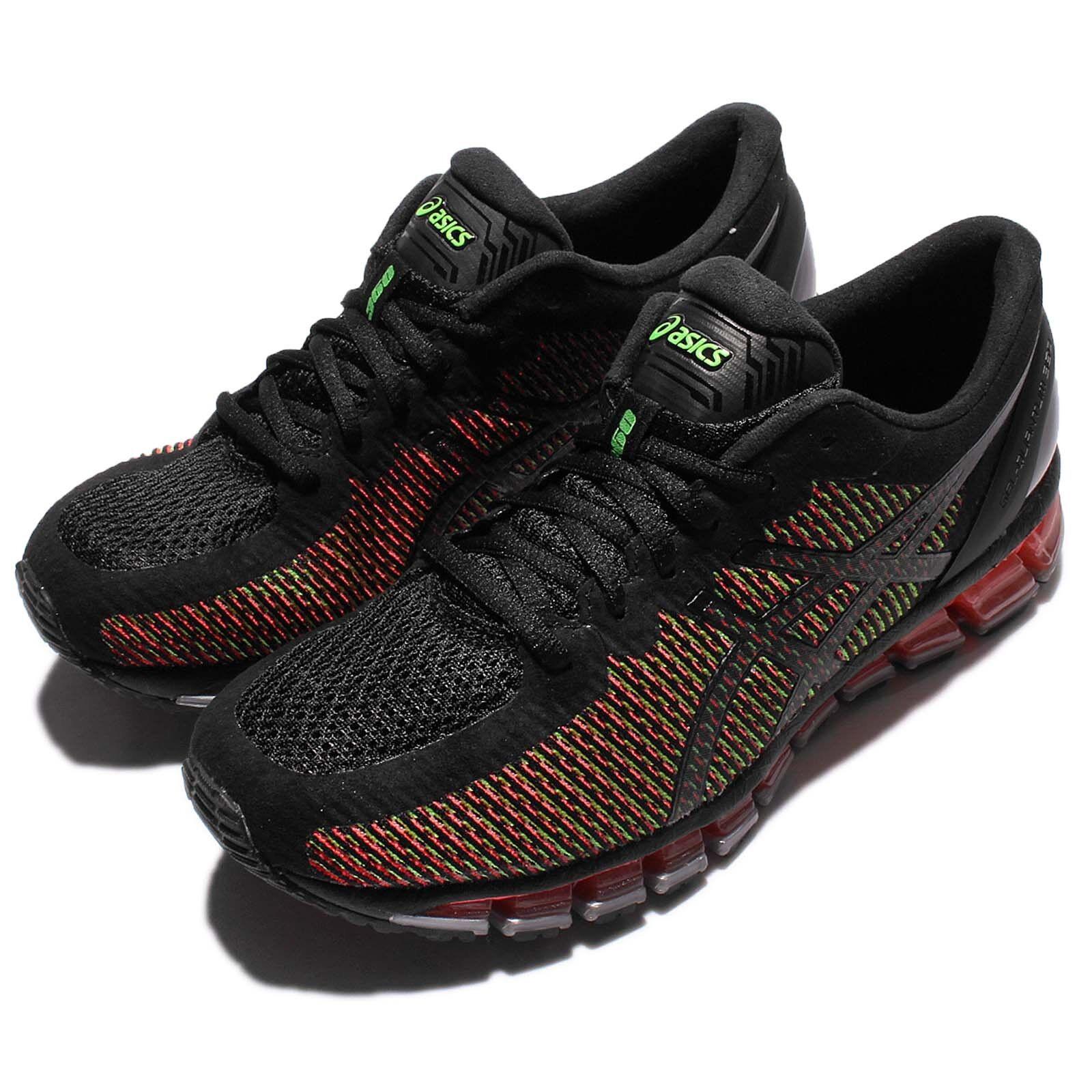 Asics Gel-Quantum 360 cm noir rouge hommes Coussin Chaussures De Course paniers T6G1N-9001