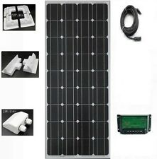 NEW! 120W 12V Solar Panel kit 20A dual Controller battery charger New