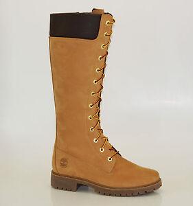 Details zu Timberland 14 Inch Premium Zip Boots Waterproof Reißverschluss Stiefel 8633A