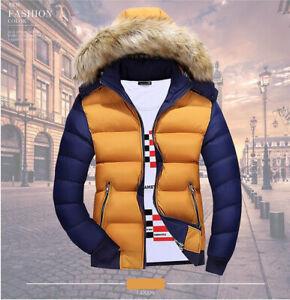 Fashion-Mens-Winter-Hooded-Thick-Padded-Jacket-Zipper-Slim-Outwear-Coat-Warm