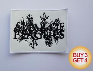 BOLZER BLACK//DEATH METAL EMBROIDERED PATCH