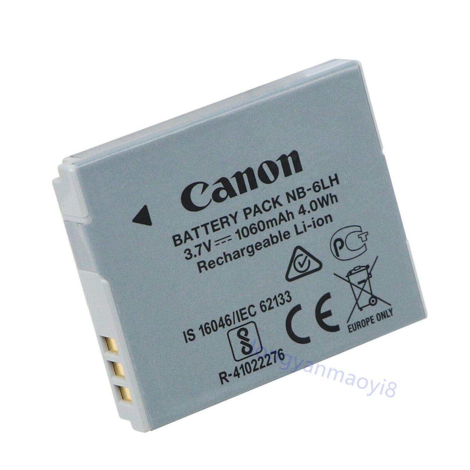 Batería para Canon nb-6lh PowerShot s90 s-90 batería