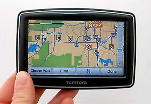 Image Is Loading Tomtom Xl 350t Car Gps Set Usa Canada