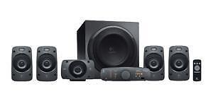 Logitech Z8 8.8 Sound Speaker System - Black for sale online  eBay