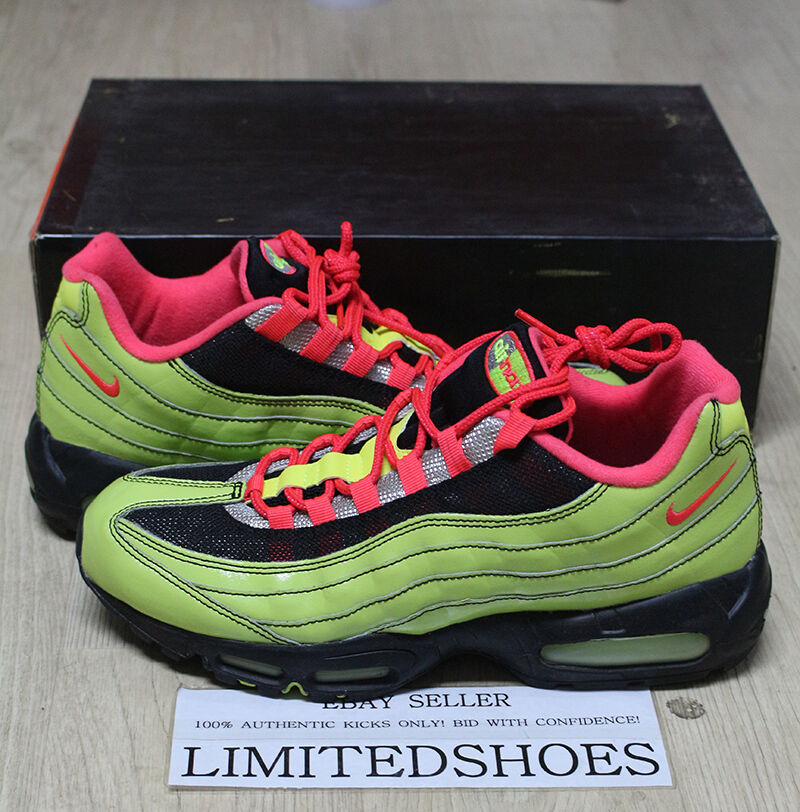 NIKE AIR MAX 95 ID NEON PATENT 314350-992   11 blends og white greedy atmos