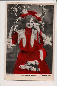Vintage-Postcard-Gertrude-034-Gertie-034-Millar-Countess-Dudley-English-actress-Tinted