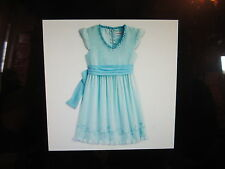 American Girl Petals & Posies Dress for Girls Size 10 NWTS