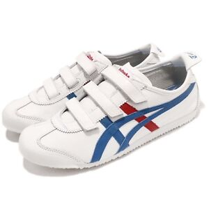 the best attitude 30176 a1cd4 Details about Asics Onitsuka Tiger Mexico 66 Baja White Blue Red Men Casual  Shoes HK4A1-0142