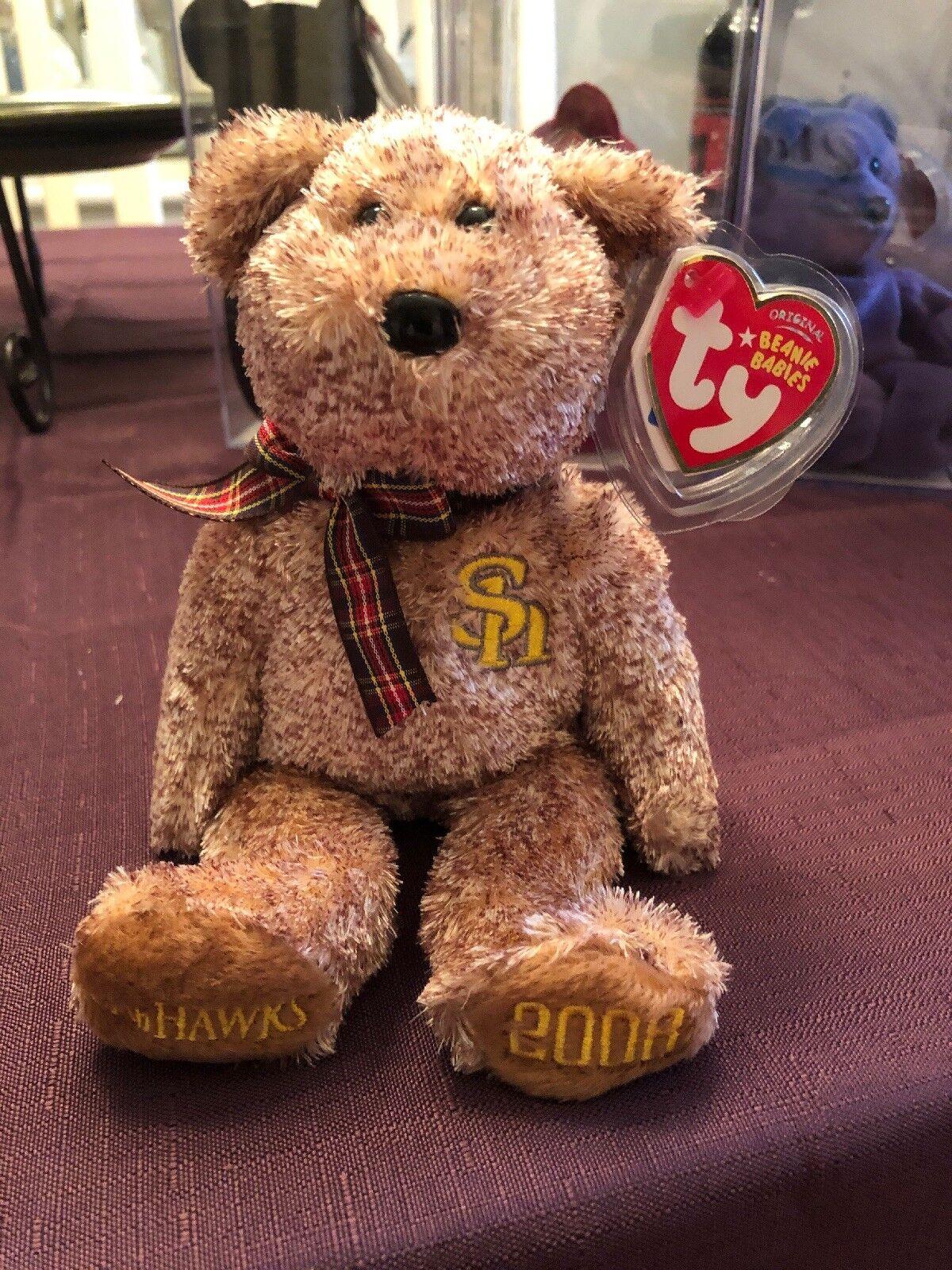 Beanie Bebiss sällsynt vit Club Hawks 2008