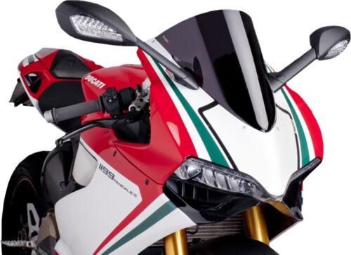 Ducati 1199 Panigale,1199 Panigal PUIG RACING SCREEN BLACK DUCATI PANIGALE Fits