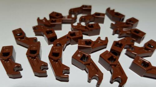 NUOVO 98313 Reddish Brown LEGO ® 20 braccio meccanico Mechanical Arm sassi MARRONE