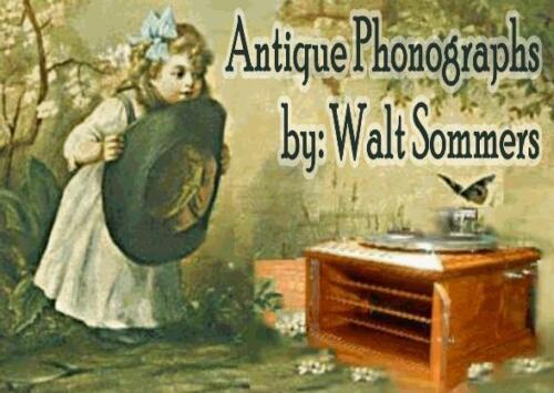 Victor Victrola VV-VI Model 6 Phonograph Nickel Cabinet Door Pull Knobs Two 2