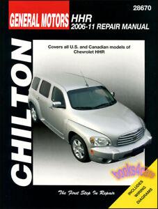 chevrolet hhr shop manual service repair book chilton haynes rh ebay com Chevrolet Parts Chevrolet Parts Lookup