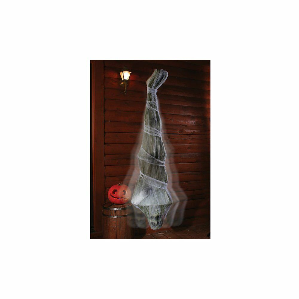 Halloween Outdoor Outdoor Outdoor Decoration 72 Inch Scary Hanging Cocoon Corpse Haunted House e25593