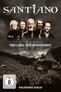 SANTIANO-Von-XXXXX-TOD-und-Freiheit-Live-DVD-NUOVO