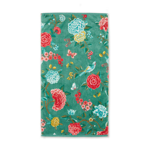 PIP Studio Frottee Serie Good Evening Green Blumenmuster 100/% Baumwolle