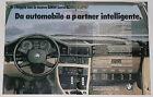 Advert Pubblicità Auto 1981 BMW SERIE 5 E28