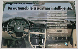 Advert-Pubblicita-Auto-1981-BMW-SERIE-5-E28
