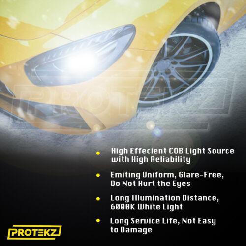 H7 LED Headlight Kit Plug/&Play TurboCool Fan 6K for VW Passat 1998-2019 Low Beam