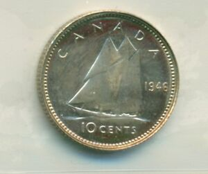ICCS-Canada-1946-10-cents-MS-65-XGE-135