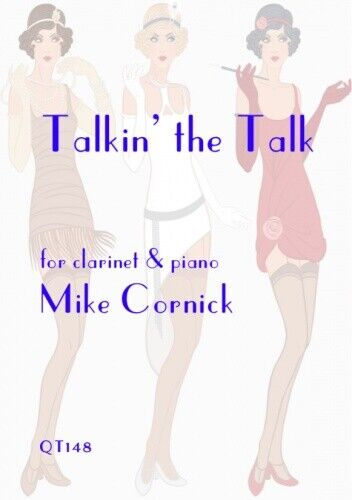 Talkin/' the Talk Clarinet /& Piano Mike Cornick  QT148