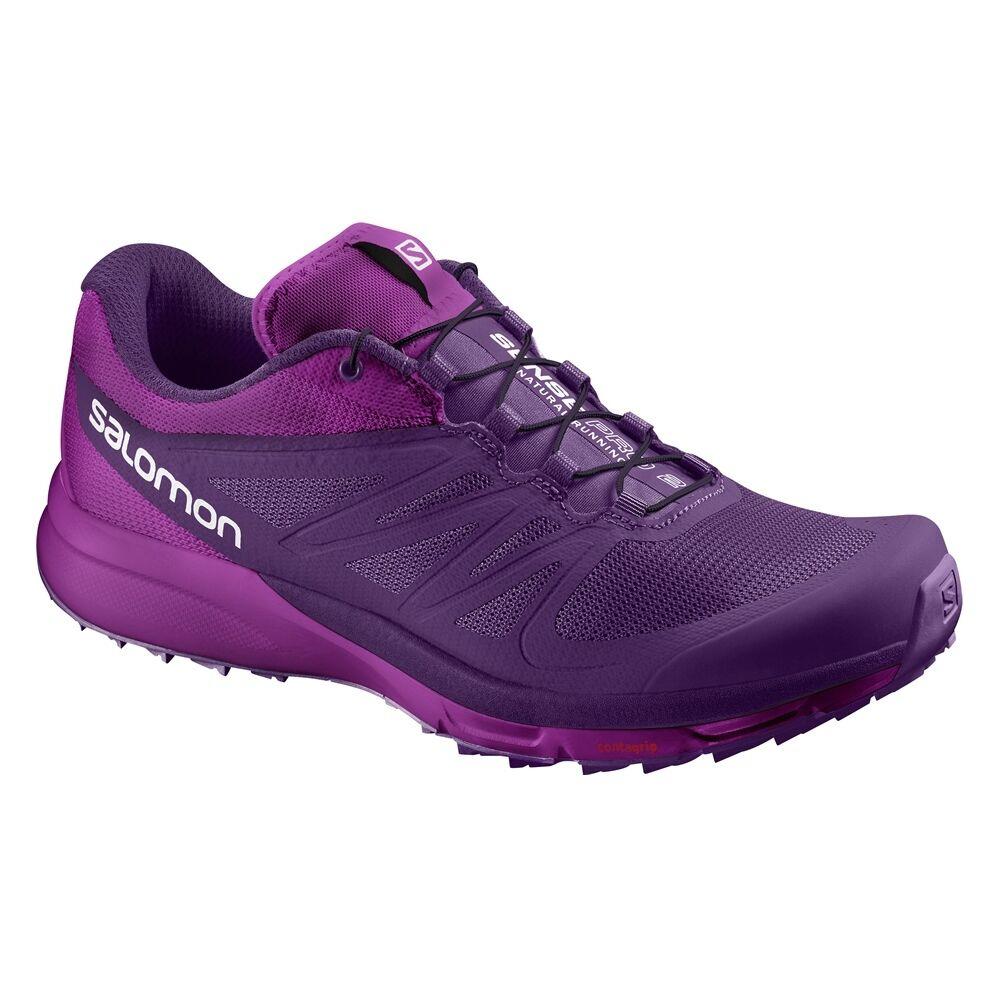 Salomon señora sense pro 2 W zapatillas zapatillas púrpuraa Trainers aerobic púrpuraa zapatillas nuevo 04663f