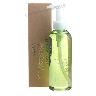 Mizon Real Soy Bean Deep Cleansing Oil 200ml Free gifts
