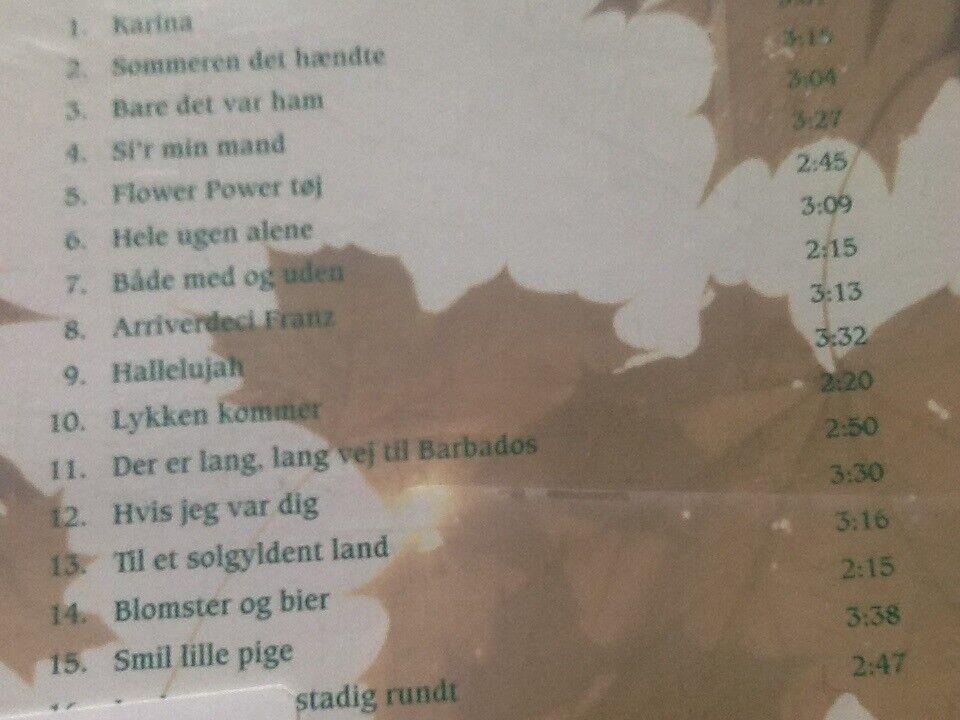 Ulla Pia : Danske Top Favoritter., pop