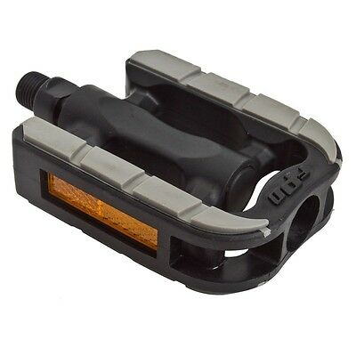Sunlite Non-Slip Pedals Sunlt Non-slip Bk//gy W//rubber 9//16