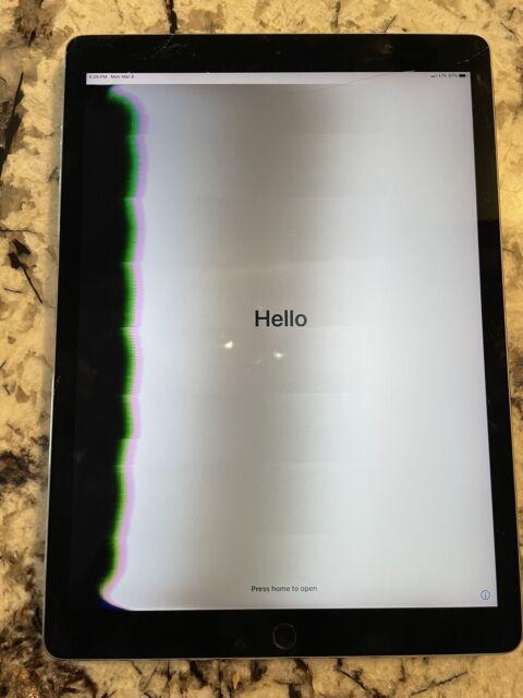 Apple iPad Pro 2nd Gen. 256GB, Cellular/Wi-Fi, 12.9 in ...
