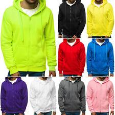 Kapuzenpullover Pullover Sweatshirt Sweatjacke Hoodie Zip Basic Herren OZONEE 20