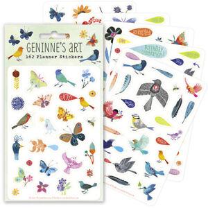 162-planner-stickers-featuring-birds-butterflys-word-art-by-Gennine-D-Ztatkis